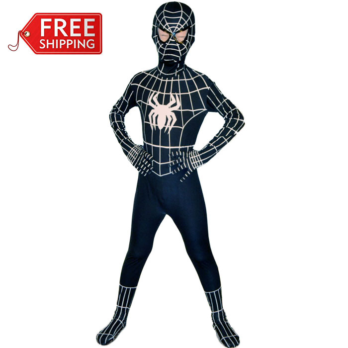 online kaufen gro handel schwarz spiderman kost m aus. Black Bedroom Furniture Sets. Home Design Ideas