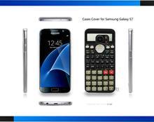 Camo Series Scientific calculator Print Hard Clear for Samsung Galaxy S3 S4 S5 Mini S6 S6 Edge Plus S7 Edge