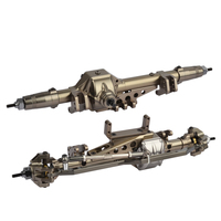 RCAidong High Quality 1/10 Rc Car Alloy Front And Rear Axle Wraith CNC Machined for 1:10 Rc Crawler Wraith AXIAL Truck