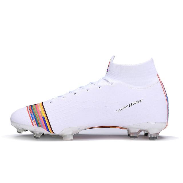 FANCIHAWAY Football Boots Men Kids Colorful Superfly VI 360 Elite Original Firm Ground Soccer Cleats chuteira futebol Wholesale