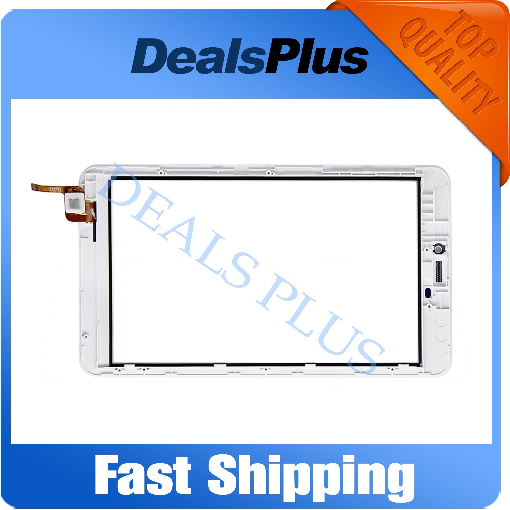 Replacement New Touch Screen Digitizer Glass with Frame For Acer Iconia Talk7 B1-723 7-inch White Free Shipping 7 inch digitizer touch screen replacement for acer iconia talk s a1 724 a1 724a a1 724a tablet pc in stock free shipping