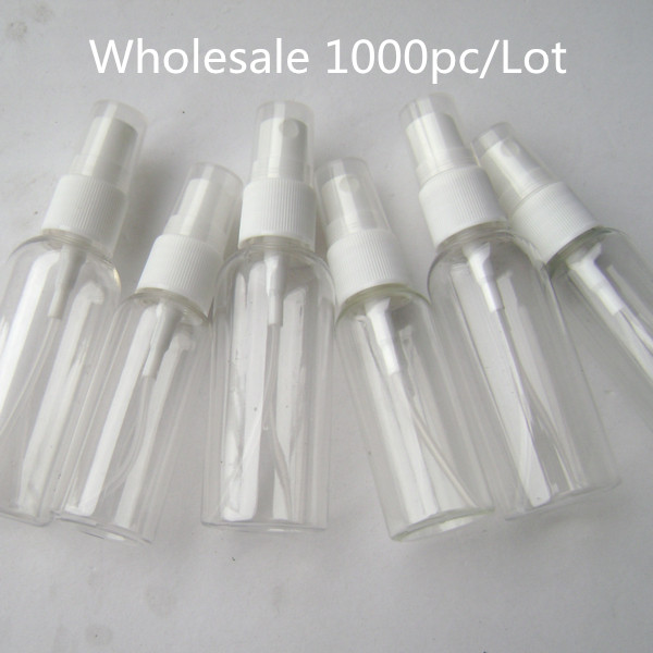 Wholesale 1000pc/<font><b>Lot</b></font> 10ml 15ml 30ml 40ml 50ml <font><b>100ml</b></font> Transparent Plastic <font><b>Spray</b></font> <font><b>Bottle</b></font> Perfume PET Refillable <font><b>Bottle</b></font> with <font><b>Spray</b></font> image