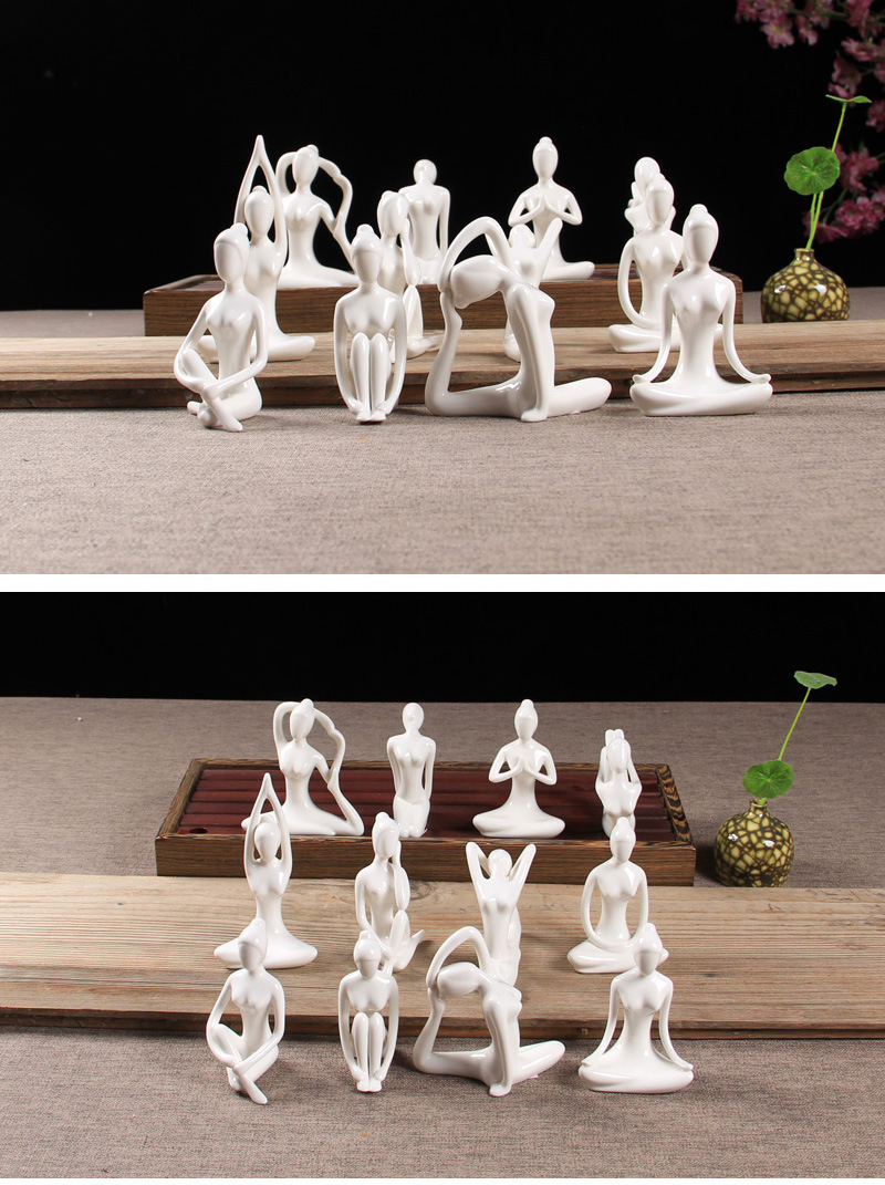 Yoga Figurines (9)