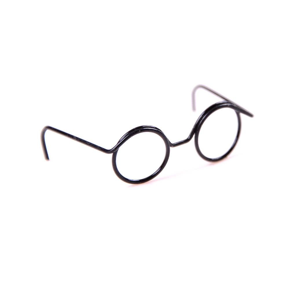 Лидер продаж, 2 шт., модные круглые линзы в ретро-стиле, крутые очки для кукол для мини 1/6, 30 см, Детские кухонные принадлежности, аксессуары