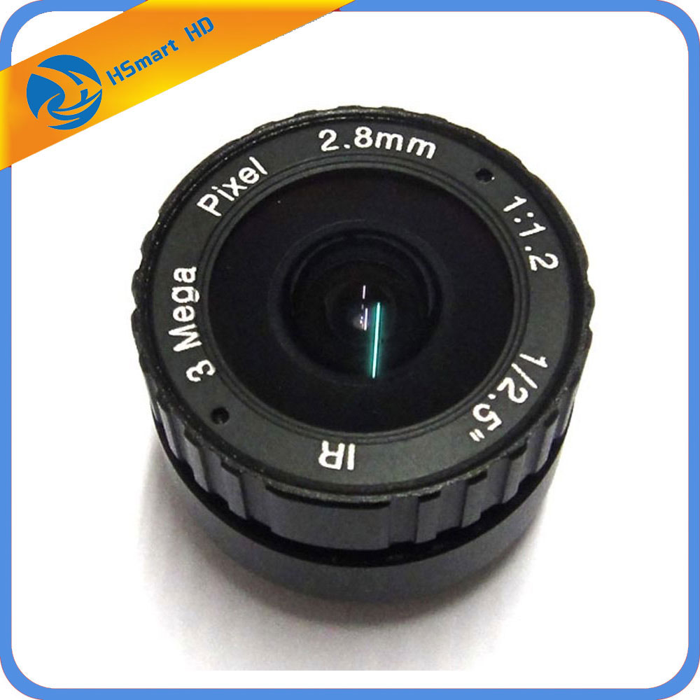 New Hot 2.8mm 1/2.5 3Megapixel CS Mount IR Fixed Lens for Box Bullet CCTV HD AHD TVI CVI 1080P Wifi IP Camera 8mm 12mm 16mm cctv ir cs metal lens for cctv video cameras support cs mount 1 3 format f1 2 fixed iris manual focus