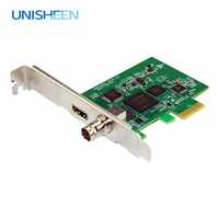 Video Capture Card PCIe 60FPS HDMI SDI VIDEO record Card Game Streaming Live Stream Broadcast 1080P VMix Wirecast OBS Xsplit