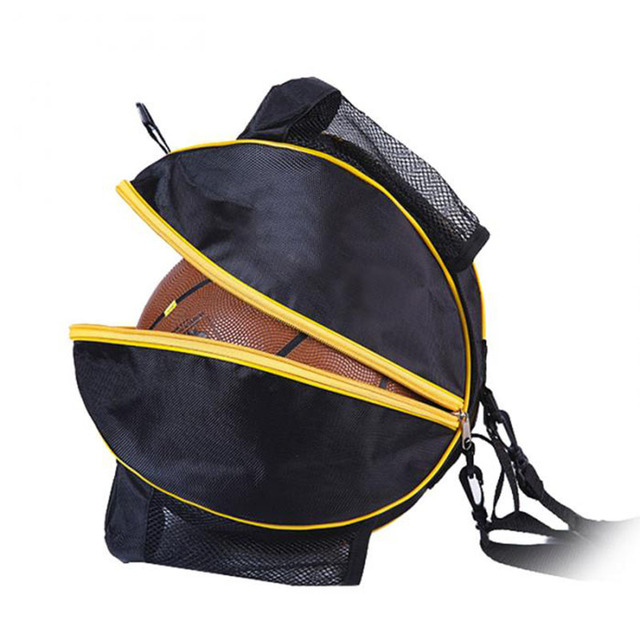 Portable Basketball Backpack Water Bottle Ball Pack Soccer Sports Bags Football Kits Waterproof Volleyball Gym