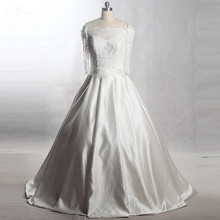 RSW1401 Yiaibridal Real Job Long Sleeves Wedding Dress