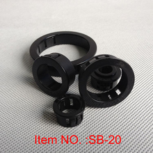 SB-20 Nylon black cable seal hole plugs electrical wire grommets 46 60mm hole pitch sb nb chipset cooler copper black