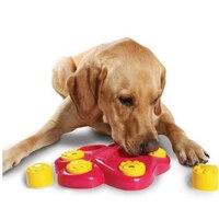 New Đa Chức Năng Con Chó Lớn Đồ Chơi Juguetes Para Perros Đồ Chơi Cho Pet Big Dogs Chơi Bowl Feeder Gà Puppy Cát Thực Phẩm Câu Đố WWM35