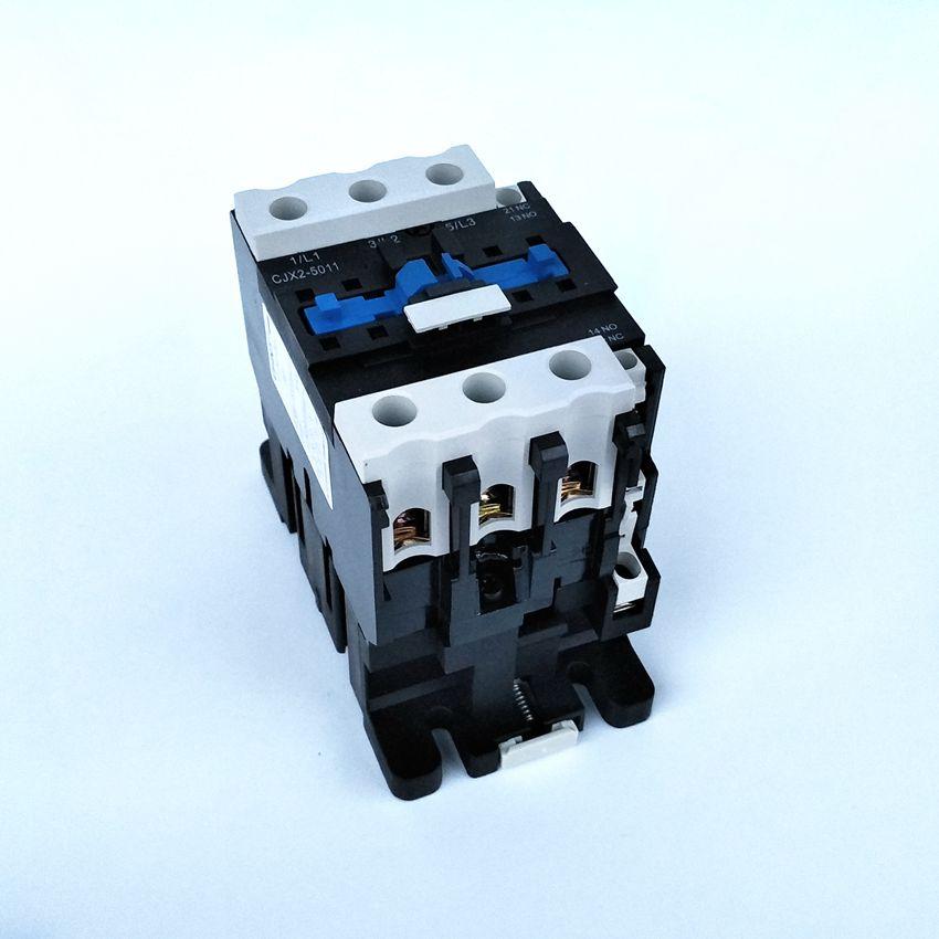 цена на Original CHINT CJX2-5011 AC Contactor 1NO+1NC 50A Coil Voltage 380V 220V 110V 36V 24V LC1-D50 AC Contactor