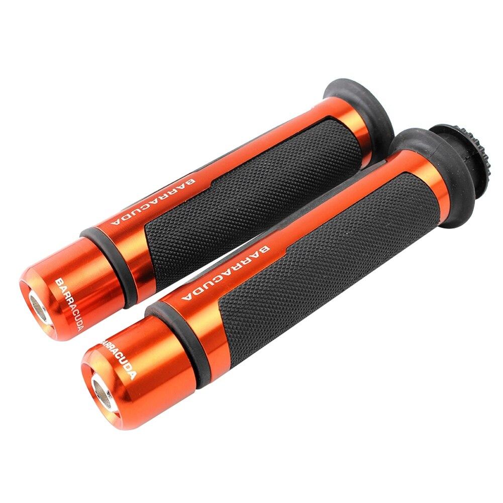 2 шт./компл. Универсальный Алюминий Сплав мотоцикл рукоятка зажимные приспособления Запчасти - Цвет: Оранжевый