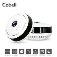 Cobell 360 Degree Panoramic Camera HD 960P Wifi IP Camera Home Security CCTV Camera Night Vision