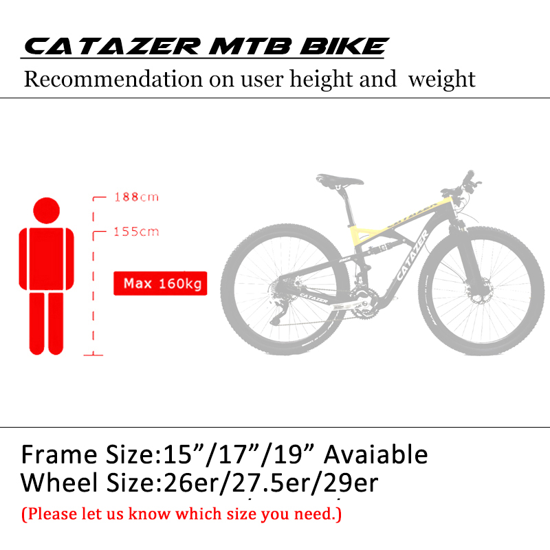 HTB1MmGXacnrK1RkHFrdq6xCoFXaS - CATAZER Carbon Mountain Bike 29 Wheelset Suspension Frame 20/30 Speeds Profession Disc Brake MTB Bicycle With SHIMAN0 M8000