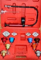 Schaal Gebruikt 14 St Auto Watertank Lekdetector Auto Koelsysteem Radiator Druk Tester Auto Reparatie Tools
