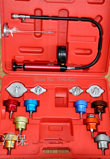 Widely Used 14 Pc Car Water Tank Leak Detector Auto Cooling System