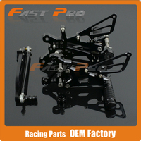 CNC Adjustable Billet Foot Pegs Pedals Rest For YAMAHA YZFR6 YZF R6 YZF R6 2006 2007 2008 2009 2010 2011 2012 2013 2014 2015