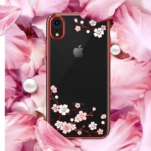 Image 5 - Kingxbar funda con diamantes de imitación para iPhone, funda con cristales de diamante para Apple iPhone X/ XS MAX/ XR