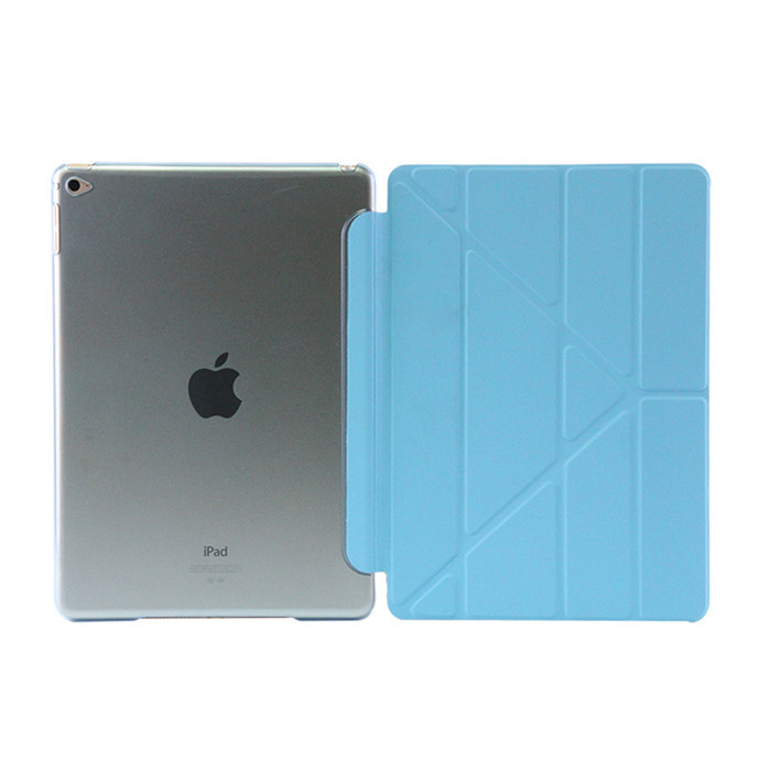 все цены на  Case for ipad air 2 pu leather together with plastic back Cover smart wake up sleep for Ipad 6 9 inch Slim Fashion  онлайн