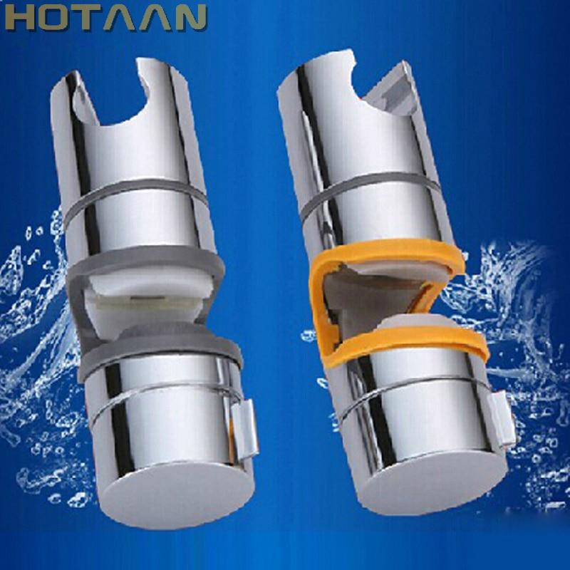 Bathroom Accessories Universal 22~25mm ABS Plastic Shower Slide Rail Bar Holder Adjustable Clamp Holder Bracket Replacement 5151