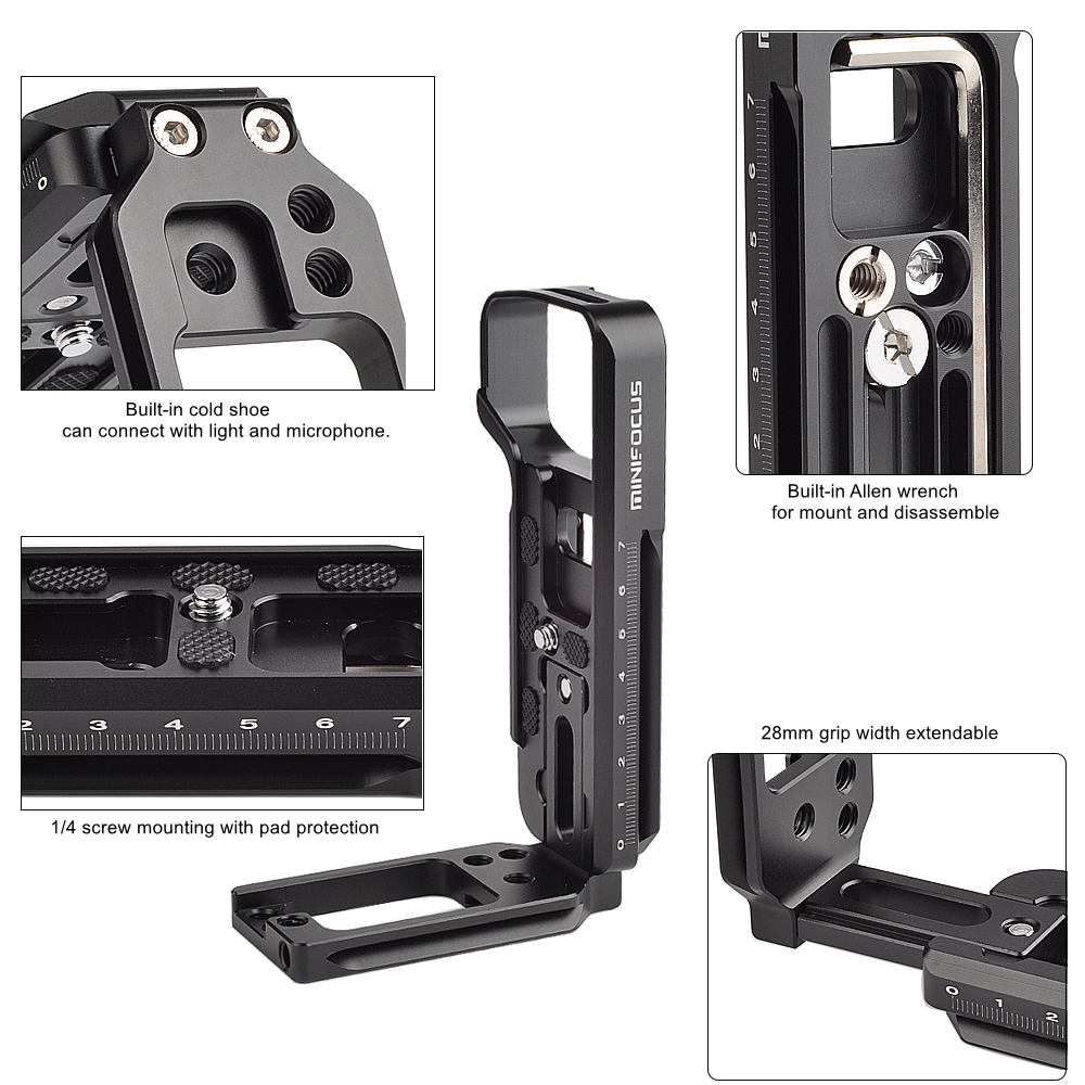 Fotasy L-Bracket LB-A7 for Sony A-7 Camera #MAPUSED-RC