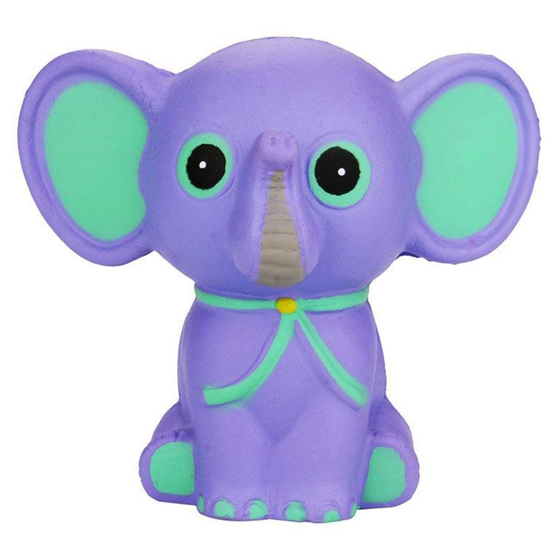 Squishies Slow Rising Jumbo Toys, Squishy Jumbo Stress Relief Toy Kawaii Cute Elephant For Kids Adult Super Funny Gift Squeeze
