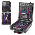 "WORKPRO 111PC Repair Tool Kit with Trolley 3/8"" Ratchet Wrench Car Repair Tool Set"