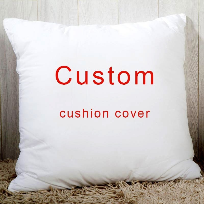 Custom Throw Pillow Cover Personalized Pillow Case, Your Custom Design, Customized Quote Accent Cushion Case,Household Gifts 18