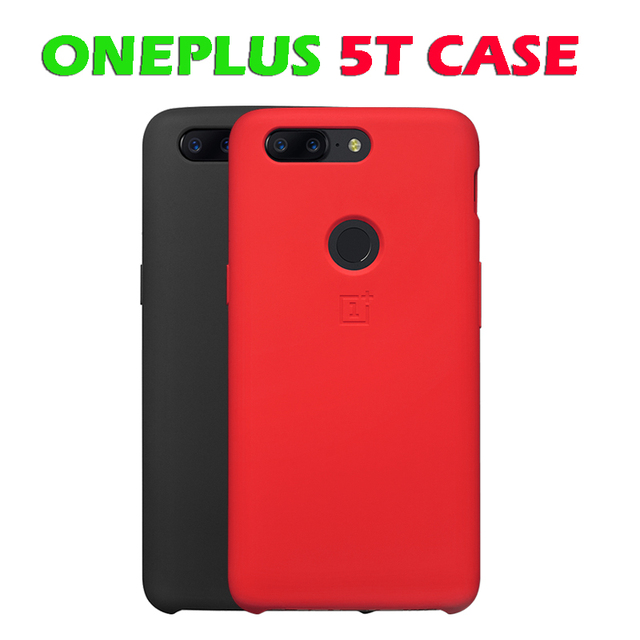 low priced 62fa3 0cad6 Aliexpress.com : Buy Original OnePlus 5T Silicone Protective Case Black  Protective Case For OnePlus 5T Mobile Phone Retails Box from Reliable case  for ...