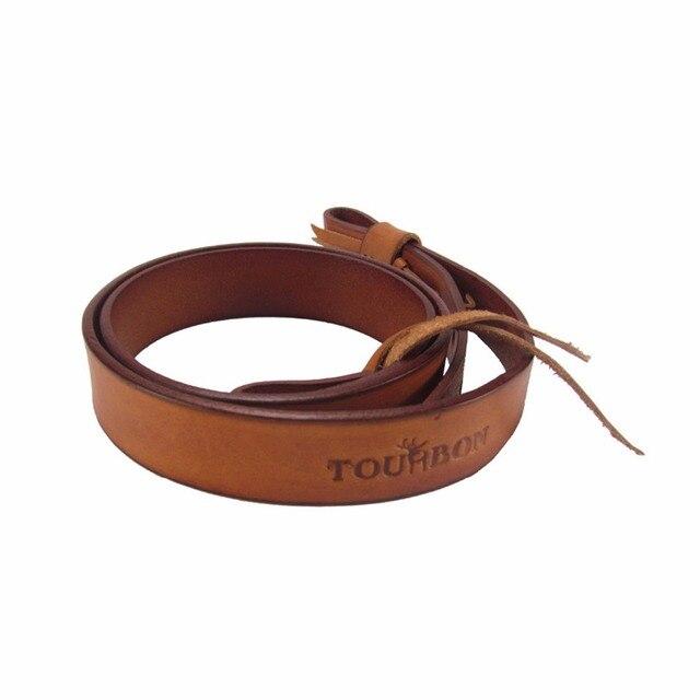 Tourbon – Kapea asehihna 100% nahkaa