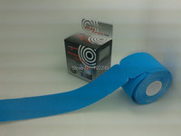 OEM waterproof 5cm x 25cm cotton shoulder precut muscle kinesiology tape