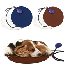 House for Cat Dog Pad Heating Bed for Dogs Blanket Small Medium Pet Winter Bed Mat Soft Warm Cats Pad Heated Mat for Pets