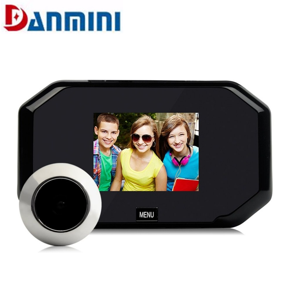 3.0 Inch LCD Digital Camera Doorbell wired Peephole Viewer Door phone Max Support 32G TF card Take Photo Looping Video Recording 1080p hd digital telescope camera with 2 inch tft lcd for photo snapshot and image video recording with max 32gb tf card memory