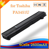 14 4V 2600mAh 4cell Wholesale Notebook Laptop Battery For Toshiba PA3451U