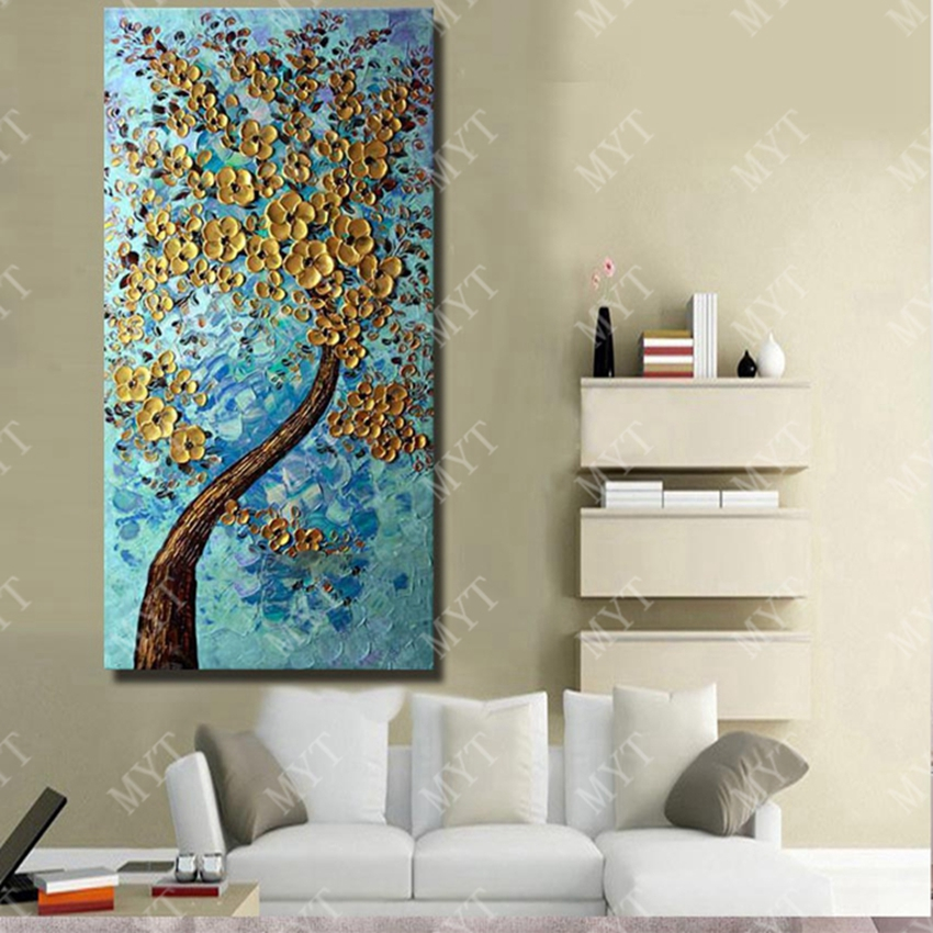 Wall Art Abstract Paintings Modern Oil Painting On Canvas Home Decoration Living  Room Pictures Handpainted No Framed HF0010 In Painting U0026 Calligraphy From  ...