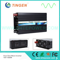 1500W off grid tie power inverter DC 24V to 220V 230V pure sine wave output EU AU socket TEP 1500W free Shipping low price