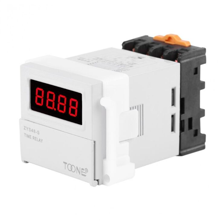 Automatic Digital Dlectronic Time Relay controller ZYS48 JSS48-A ZYS48-2Z ZYS48-S Timer DH48S
