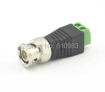 Free shipping (5pieces/lot) Mini Coax CAT5 To Camera CCTV BNC Video Balun Connector Adapter