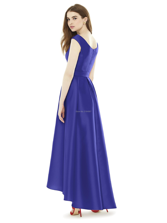 Großartig Electric Blue Brautjungfer Kleid Fotos - Brautkleider ...