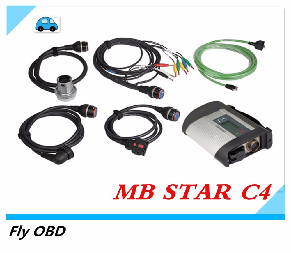 Connect C4 Star Compact C4 mb star c4 with WIFI Professional Multi-languages Diagnostic Tool