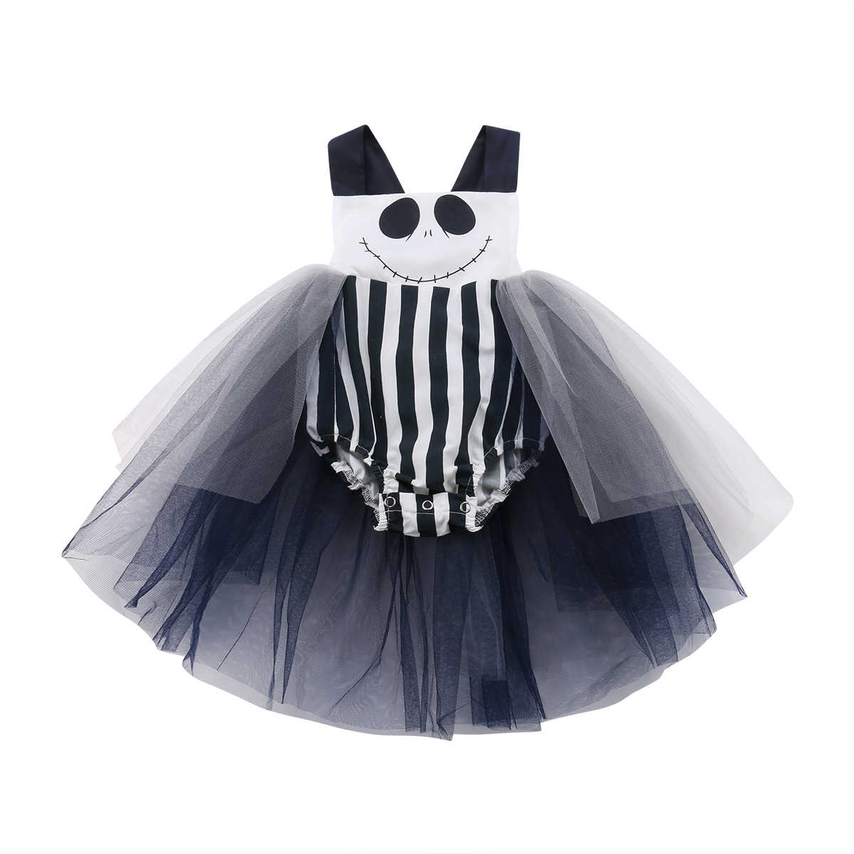 4fe142f48d73 Newborn Toddler Baby Girl Rompers Halloween Cute Baby Girl Lace Tutu  Jumpsuit Playsuit Baby Clothes Holiday