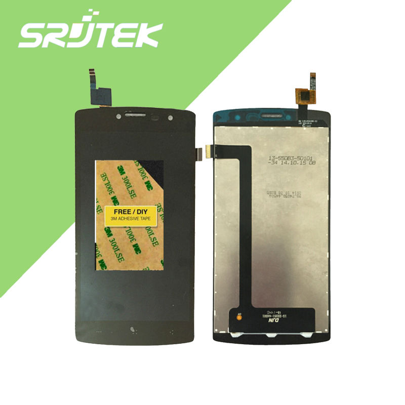 ФОТО Original 5 inch For Archos 50b Platinum LCD Display with Touch Screen Digitizer Assembly Black