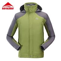ROYALWAY One Pieces Spring Men Outdoor Hiking Jacket Men C Jacket Men Quick Dry Hunting Clothes Polar Jacket#ROM3049CS