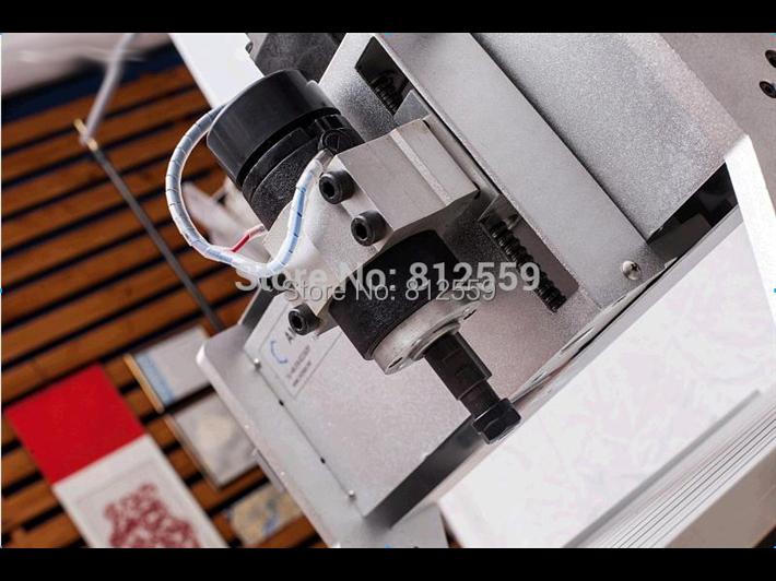 AMAN 3 assi CNC3040 200 W INCISIONE ROUTER INCISIONE FORATRICE / - Attrezzature per la lavorazione del legno - Fotografia 4