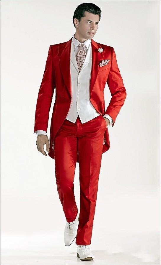 Red Suit Prom Dress Yy