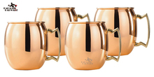 550ml Stainless Steel Moscow Mug Copper Plated Mule Drum Beer Coffee Water Glass Drinkware