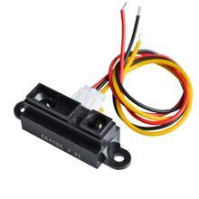 10 teile/los GP2Y0A41SK0F 100% NEUE 4 30 cm Infrarot abstand sensor 0A41SK EINSCHLIEßLICH DRÄHTE
