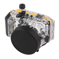 Meikon 40M Waterproof Underwater Camera Housing Case Bag for Canon S110 WP DC47 Waterproof Underwater Housing Case for Camera