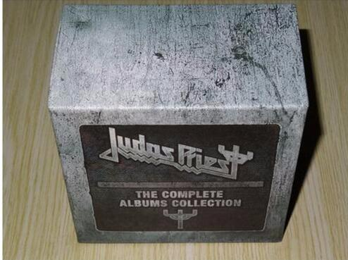 цена на Judas Priest The Complete Albums 19 CD Booklets Full Box Set NEW