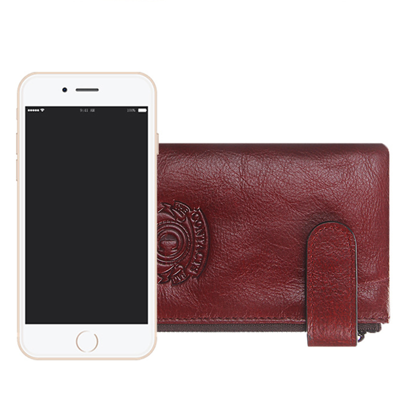 porta cartão bolsa de moeda Color : Black, Brown, red